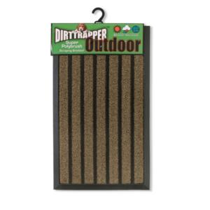 dirttrapper outdoor doormat light brown